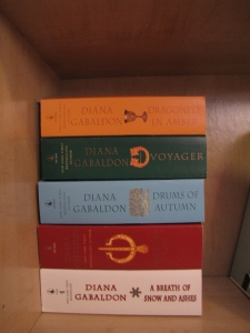 Just stating book #2 of The Outlander series.