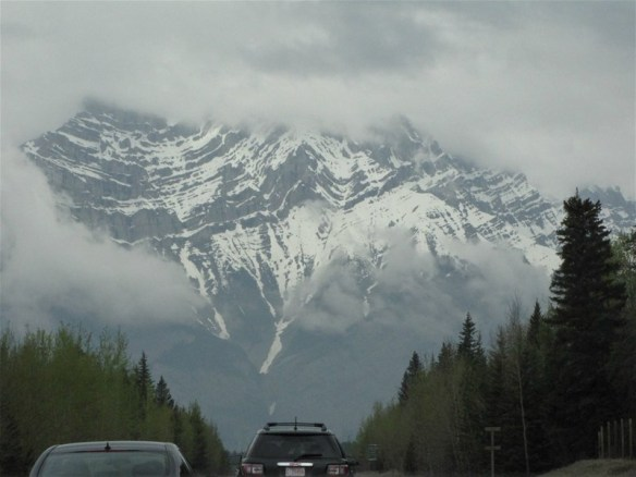 The drive itself into Banff is spectacular