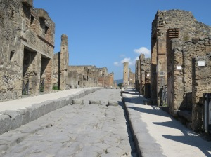 Streets of Pompeii - an amazing site