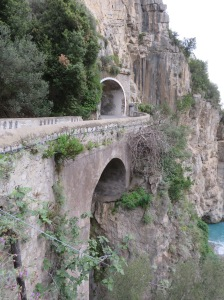 Roads along the Amalfi Coast